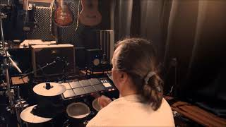 Video Faith No More - Easy (cover) - records drums backingtrack Midist