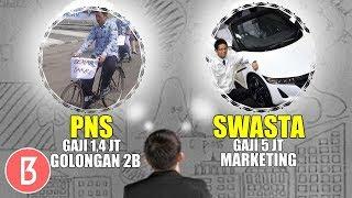 Download Video Gaji Gak Sebanding Apalagi Fasilitas! BEDANYA PEGAWAI NEGERI SIPIL & KARYAWAN SWASTA BIKIN SYOK MP3 3GP MP4