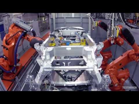 i3 - Watch the BMW i3 being built from start to finish. Part 1: carbon fibre, battery assembly, assembly of the drive module. http://www.testdriven.co.uk/2014-bmw...