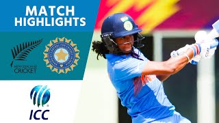 Harmanpreet Kaur Smashes 103! | New Zealand v India - ICC Women's World T20 2018 - Highlights