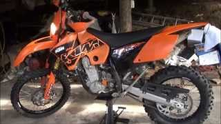 6. KTM 525EXC 07 Start Up & Walk Around