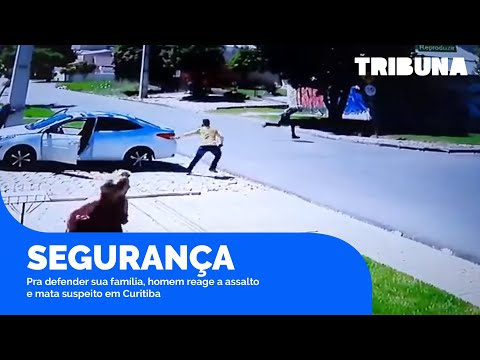 Morador do Xaxim reage a tentativa de assalto e mata bandido em Curitiba