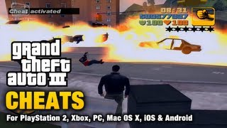 GTA 3 Cheats YouTube video