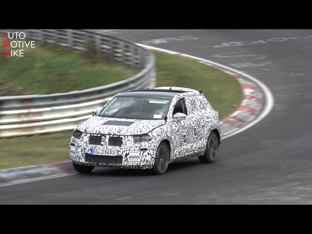 2018 Volkswagen Polo SUV / T-Cross spied testing at Nürburgring