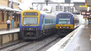 Moss Vale Australia  city pictures gallery : Australia: Endeavour & Xplorer Railcars at Campbelltown