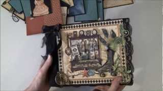 I have made a tutorial for this album and i had a lot of fun creating it :-) There is a lot of fussy cutting, tags and booklets and it is just to give you s...