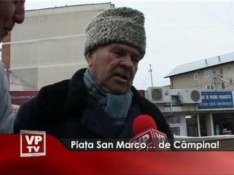 Piaţa San Marco… de Câmpina!