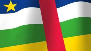Flag Of Central African Republic - Drapeau De Centrafrique - Ködörösêse Tî Bêafrîka