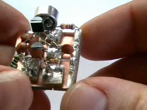 Build your own Surveillance Spy Bug. FM Transmitter Bug.  No special parts needed.