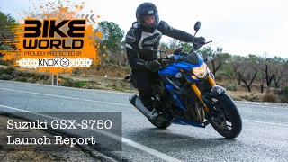 8. 2017 Suzuki GSX-S750 Launch Report