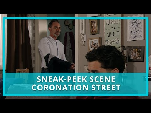 Coronation Street (Corrie) Spoilers: Josh Moves In With Billy - Watch The Scene