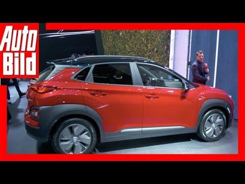 Hyundai Kona Elektro (Genf 2018) Sitzprobe/Details/Erkl ...