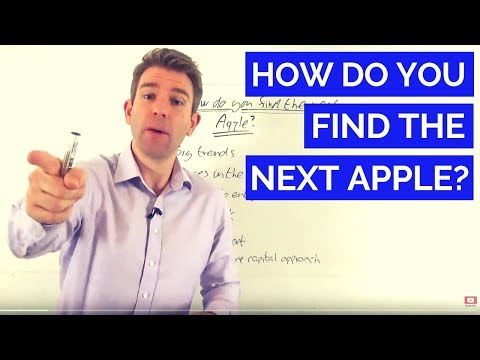 How Do You Find the Next Apple, Google or Facebook? 👊