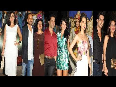 Kangana Ranaut, Zayed Khan & Others At Success Party Of Tanu Weds Manu Returns