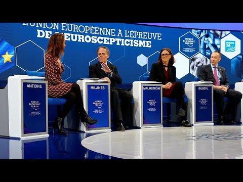 Νταβός: Προειδοποιήσεις για τους κινδύνους στην παγκόσμια οικονομία…