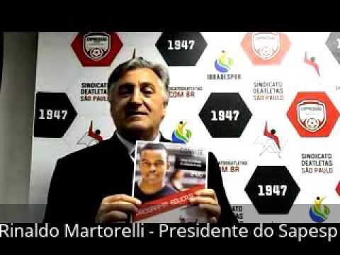 Martorelli convoca profissionais para entrega do Certificado EducAtleta