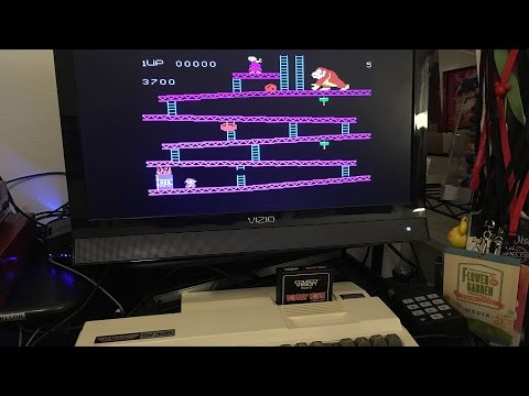 Playing ColeoVision on a Spectravideo SV 328 with SV 603 Game Adapter
