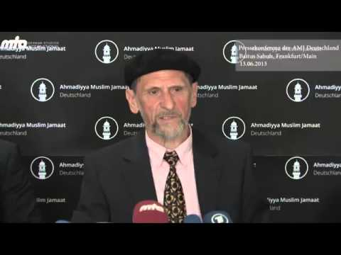 Pressekonferenz - Körperschaft des öffentlichen Rechts