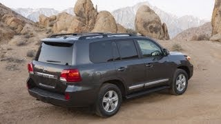 Real World Test Drive 2013 Toyota Land Cruiser