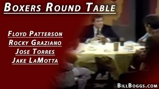 Round Table - Floyd Patterson, Rocky Graziano, Jose Torres&Jake LaMotta