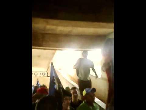 Entrada de La Petrolera. Zulia fc vs Caracas fc - La Petrolera - Zulia