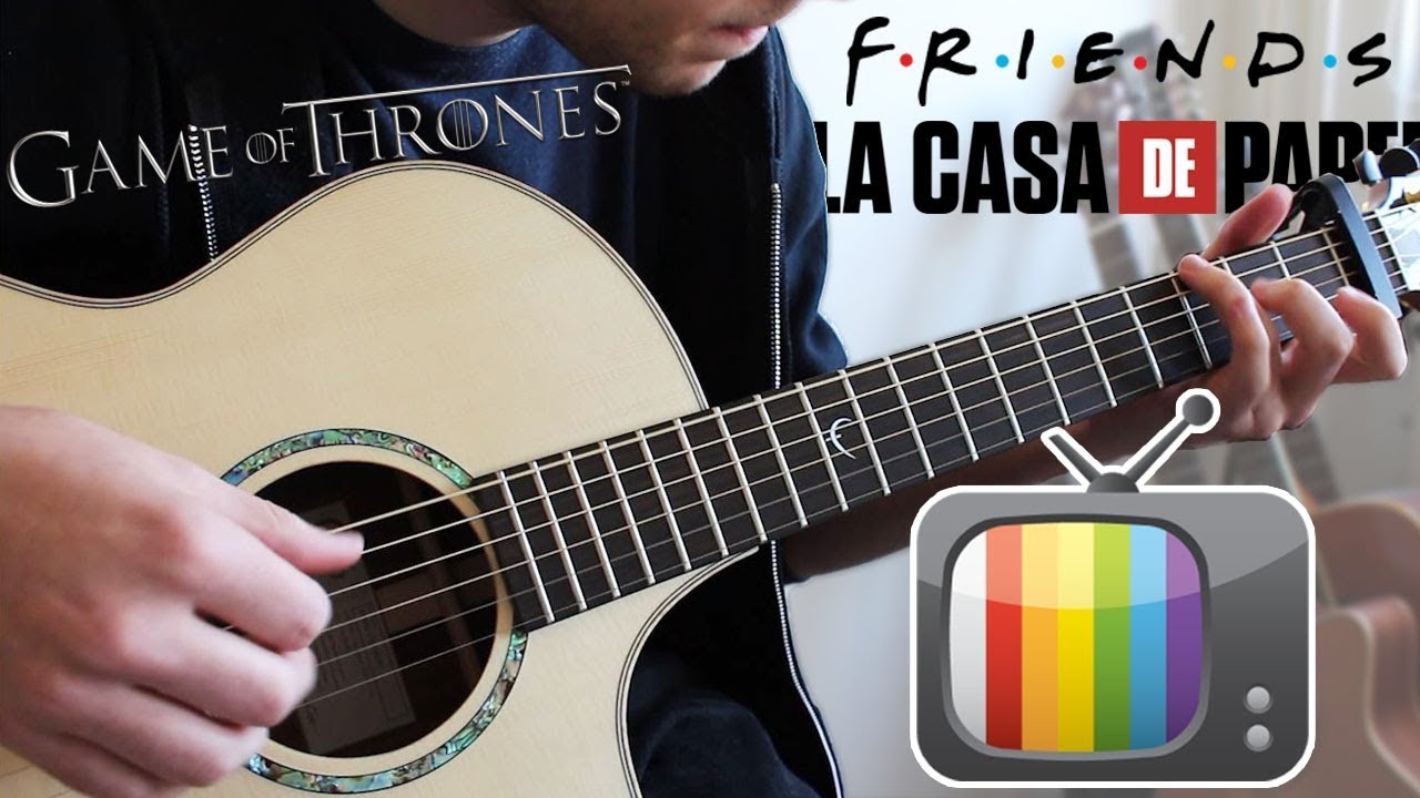 7 TV SERIES Songs to play on Guitar (FINGERSTYLE)