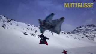 You Have Not Seen Anything Like This: Wingsuit Flying Above Skiers