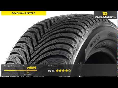 Youtube Michelin ALPIN 5 225/60 R16 102 H XL Zimní