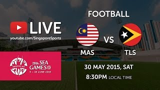 Football Malaysia vs Timor-Leste 30 May Preliminary round of 28th SEA Games Singapore 2015 (30 May 2015) Goals Scored:...