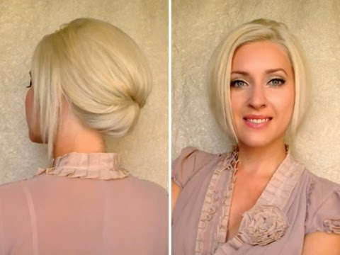 ... Updo Hairstyles for Short Hair in Minutes – 10 Tips | Hair Summary