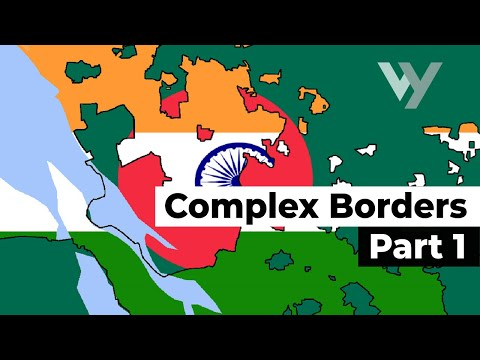 The Most Complex International Borders in the