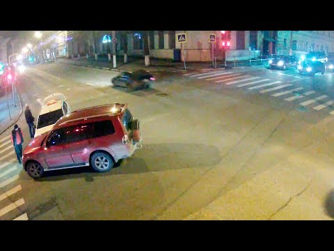 Авария с таксистом в Серпухове