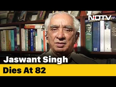 """Ex-Union Minister Jaswant Singh Dies At 82. """"Saddened By Demise,"""" Says PM Modi"""