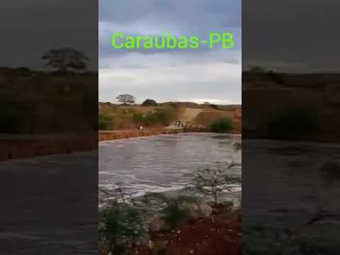 Moradores comemoram chuva e cheia no Rio Paraíba