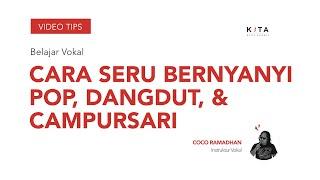 Video Belajar Vokal : Bernyanyi pop, dangdut, & campursari - Coco Ramadhan (Lesson Lucu) MP3, 3GP, MP4, WEBM, AVI, FLV September 2018