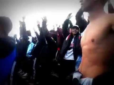 Hinchada de Danubio vs Cobardes / Apertura 2015-16 - Los Danu Stones - Danubio