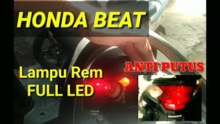 Video LAMPU LED DI REM HONDA BEAT MP3, 3GP, MP4, WEBM, AVI, FLV September 2018