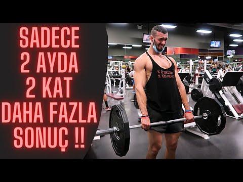 2 KAT Daha HIZLI BÜYÜTEN BEDAVA ANTRENMAN Programı!! (Full Body-Spartacus)