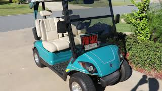 9. Yamaha Golf Cart For Sale (SOLD  SOLD  SOLD)