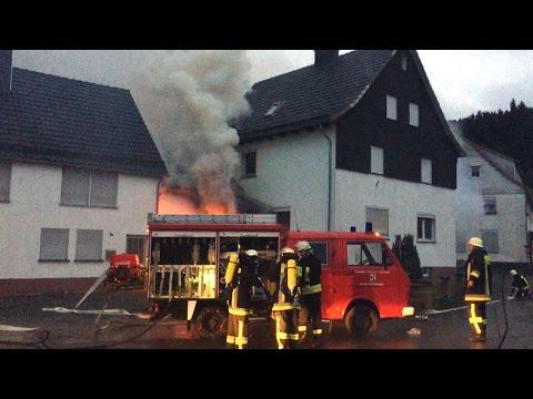 88-Jähriger stirbt bei Wohnhausbrand