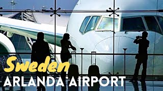 Arlanda Sweden  city photos : Stockholm Arlanda International Airport *HD*