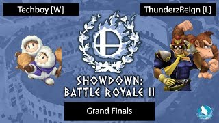 Showdown : Battle Royale 2 Grand Finals: Techboy [W] vs. ThunderzReign [L]