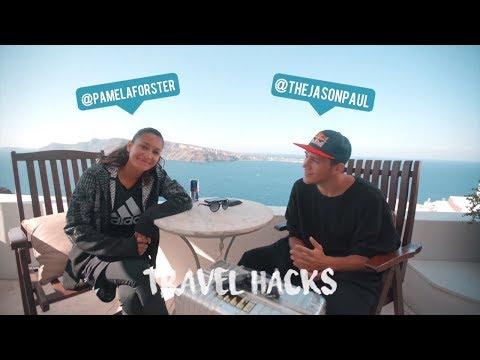 Travel hacks w/ Jason Paul: how to pack like a freerunner. | feat. Pamela Forster
