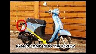 1. Kymco Compagno 110i Review