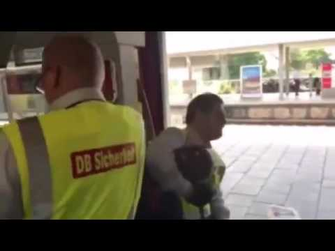 German Cops Remove Black Dude from Train for No Ticket