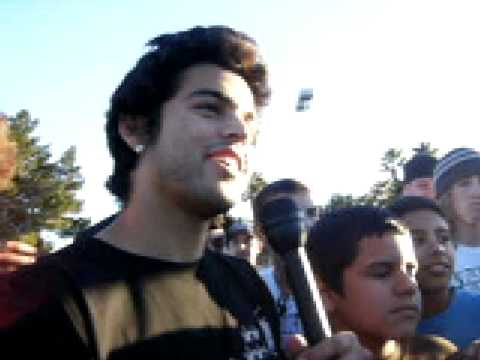 Paul Rodriguez interview at Winchester  Skate park