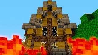 """Minecraft """"THE SLAUGHTER HOUSE!"""" Epic Kit PvP w/ W"""
