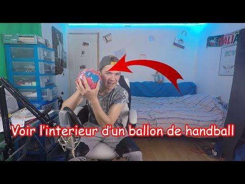 VOIR L'INTERIEUR D'UN BALLON DE HANDBALL #3