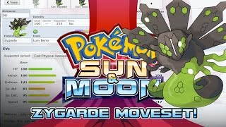 Zygarde 50% Moveset Guide! How to use Zygarde 50%! Pokemon Sun and Moon! by PokeaimMD