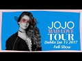 JoJo Live In Dublin FULL SHOW HD Mad Love Tour January 15 2017.